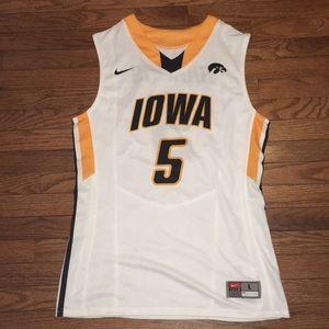 Nike Iowa Hawkeyes Basketball Jersey #5 Morris Lg